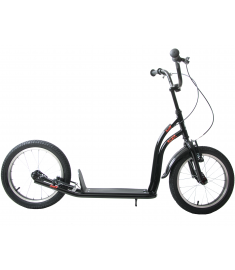 """Professional 16"""" Wheel Scooter Black"""