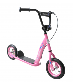 """Professional Scoot-X 10"""" Wheel Scooter Pink"""