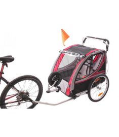 AMMACO ALLOY KIDDIE TRAILER TOWING OR PUSH BUGGY