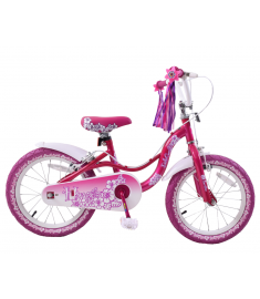 "Spike Hawaiian 16"" Wheel Bike Pink"