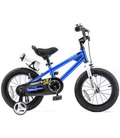 "RoyalBaby Freestyle 12"" Wheel Bike Blue"