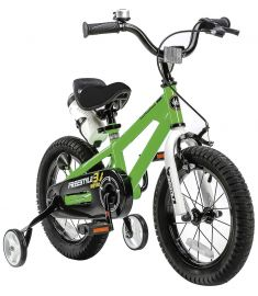 "RoyalBaby Freestyle 12"" Wheel Bike Green"