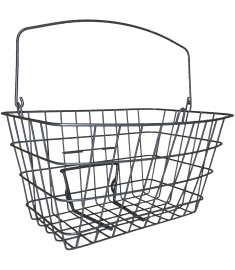 Raleigh Caprice Front Wire Basket Silver