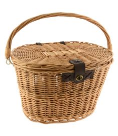 Dawes Oval Wicker Basket & Lid