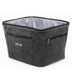 New Looxs Front Carrier Bag Grey 30L