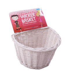 Oxford Kids Front Wicker Basket 12""