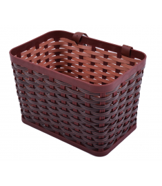 Ammaco Front Kids Basket & Leather Straps Brown