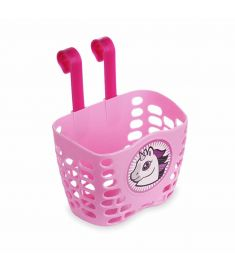 Oxford Unicorn Front Basket Pink