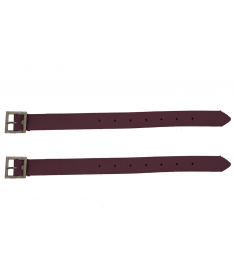 "Ammaco Vintage Brown Basket Straps 11.5"" Pair"