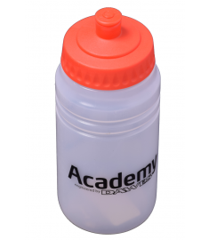 Dawes Academy 500ml Water Bottle Wide Mouth Clear