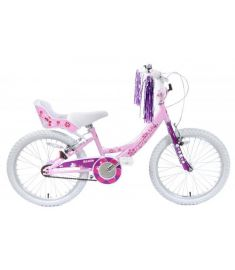 "Izzie Girls 20"" Wheel BMX & Dolly Seat Pink"