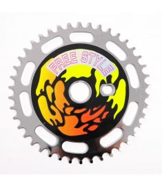 PRIMAL SHOCK CHAINRING 44T CHROME