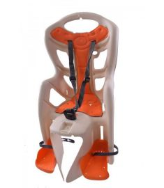 BELLELLI CHILD SEAT PEPE FRAME FIT CREAM/ORANGE