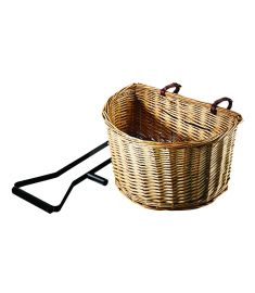 Pulse D-Shape Wicker Basket