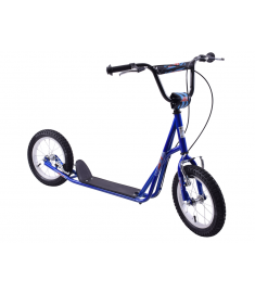"Professional Jet Rockets 14"" Wheel Scooter Boys Blue"
