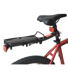 Alloy Quick Release Seatpost Carrier Rack