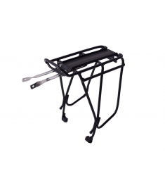 OXC Pannier Luggage Rack Alloy Black 26-28""