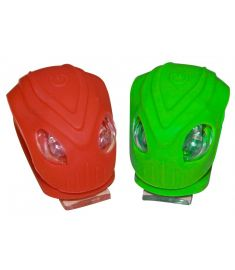 Oxford Brighteye Alien LED Light Set Green/Red