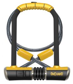 OnGuard Bulldog Combination D-Lock & Cable 230mm