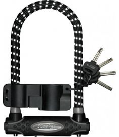 Master Lock Gold Secure Reflective D-Lock 210mm x 13mm