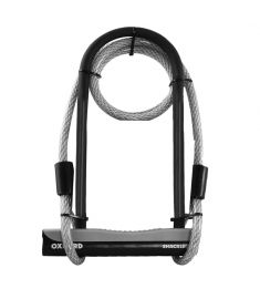 Oxford Shackle12 DUO U-Lock & 1200mm Lockmate