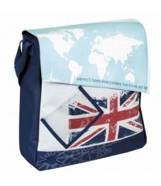 AGU Fast Rider Union Jack Single Pannier Bag 16.5L