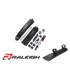 Raleigh Flinger Extendable Mudguards 24-29""
