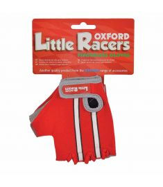 Oxford Little Racers Fingerless Mitts Red