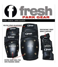 FreshPark Elbow Knee Wrist Safety Pads Set