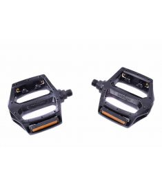"Well Go Pedals Alloy Platform 9/16"" Black"