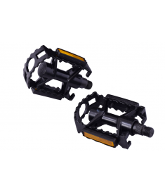 "Ammaco Replacement Alloy 9/16"" Pedals Black"