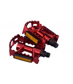 "Ammaco Replacement Alloy 9/16"" Pedals Red"