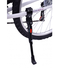 """AMMACO FRAME STAY PROPSTAND ALLOY 20""""-700c ALLOY BLACK"""