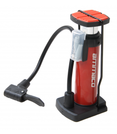 Ammaco Mini Foot Pump Red
