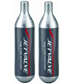 Jetvalve 16g CO2 Cylinder Pair