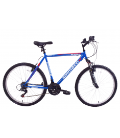 """Ammaco Scafell 26"""" MTB Front Suspension Blue"""