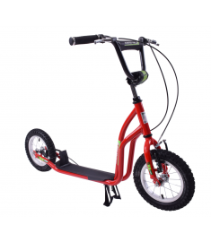 "Professional Scoot-Pro 12"" Wheel Scooter Red"