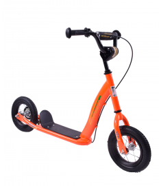 "Professional Scoot-X 10"" Wheel Scooter Orange"