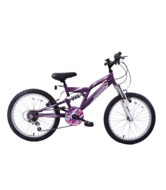 "Professional Shocker 18"" Wheel Dual Suspension Purple"
