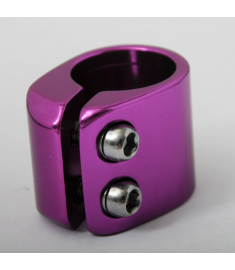 Alloy BMX Seat Post Clamp 28.6mm Purple