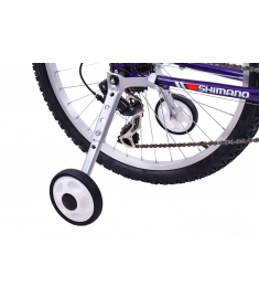 "Ammaco Heavy Duty Stabilisers 18-24"" Wheel Geared Bikes"