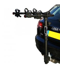 HOLLYWOOD TRAVELLER 3 BIKE TOWBALL CAR CYCLE RACK
