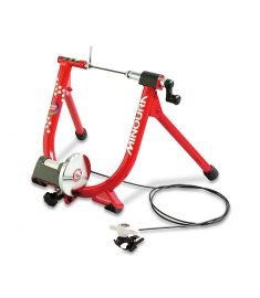 Minoura Live Ride 340 Magnetic Resistance Turbo Trainer Red