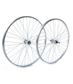 "Raleigh 26"" x 1.75"" Front Wheel Alloy Hub Silver"